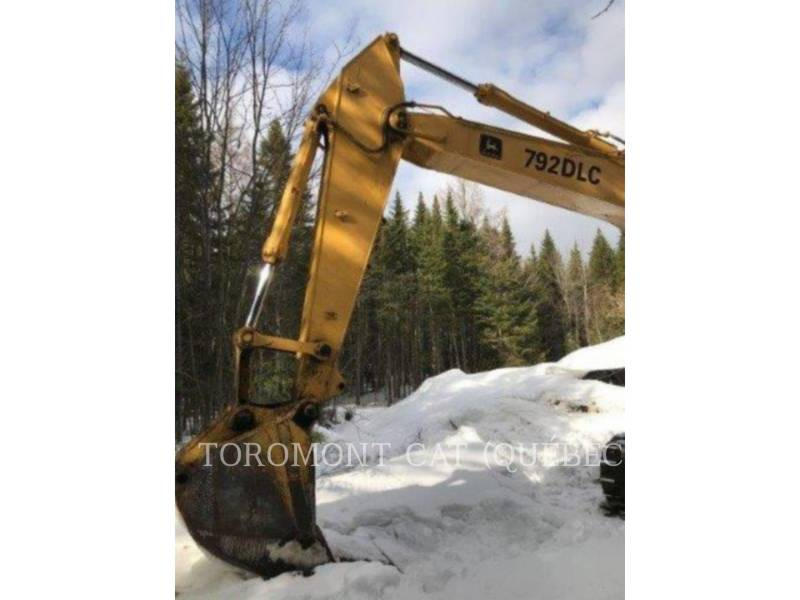 JOHN DEERE TRACK EXCAVATORS 792D LC equipment  photo 10