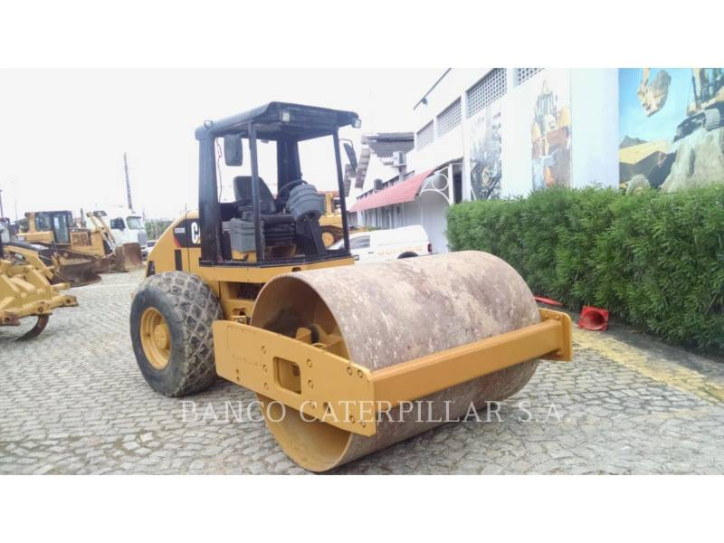 CATERPILLAR COMPACTEUR VIBRANT, MONOCYLINDRE LISSE CS-533E equipment  photo 3