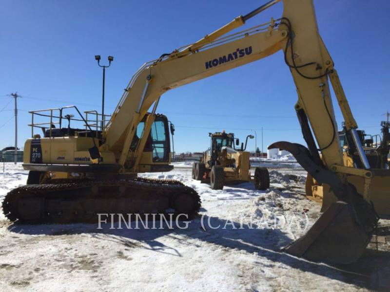 KOMATSU TRACK EXCAVATORS PC270LC-8 equipment  photo 4