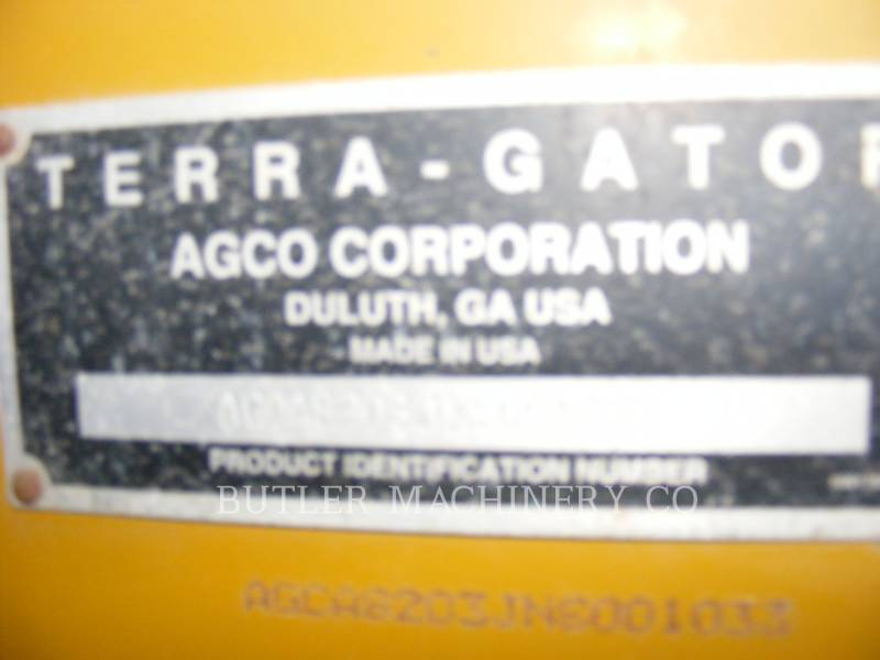 TERRA-GATOR PULVERIZADOR TG8203 equipment  photo 7
