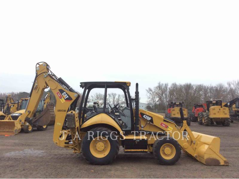 CATERPILLAR BACKHOE LOADERS 420F 4H equipment  photo 7