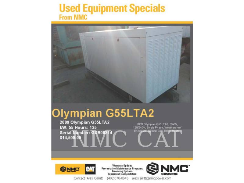 OLYMPIAN_ STATIONARY GENERATOR SETS G55LTA2_OY equipment  photo 5