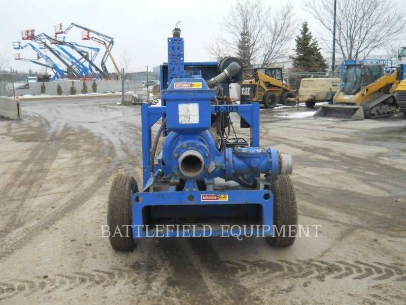 GORMAN RUPP WATER PUMPS / TRASH PUMPS PA6A60-4045D equipment  photo 3