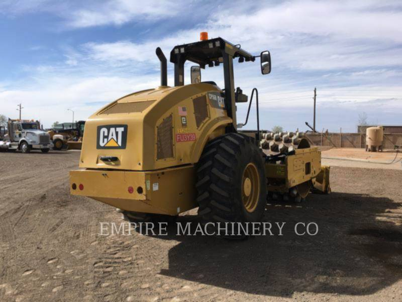 CATERPILLAR VIBRATORY SINGLE DRUM PAD CP56B equipment  photo 3
