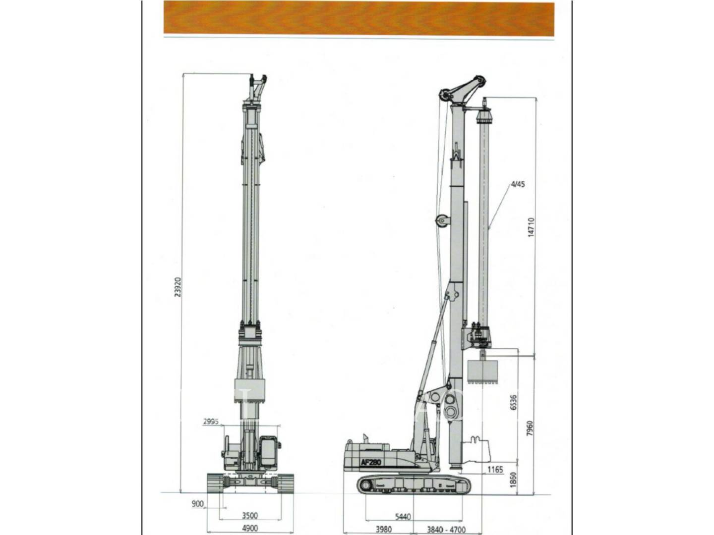 Detail photo of 2010 IMT AF280 from Construction Equipment Guide