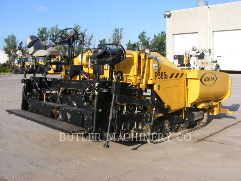 WEILER ASFALTEERMACHINES P385B equipment  photo 4
