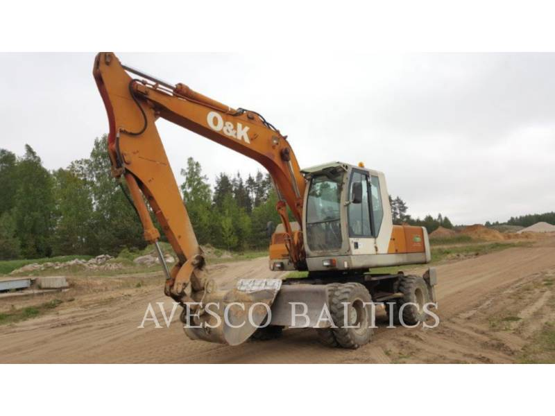 O&K WHEEL EXCAVATORS MH PLUS equipment  photo 2