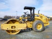 Equipment photo CATERPILLAR CS 56 B EINZELVIBRATIONSWALZE, GLATTBANDAGE 1