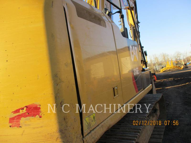 CATERPILLAR トラック油圧ショベル 316E equipment  photo 9