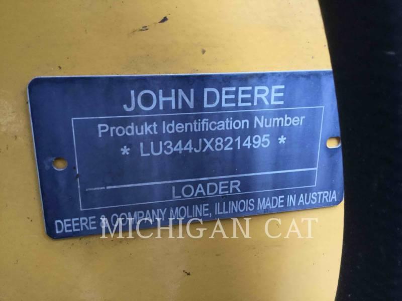 JOHN DEERE CHARGEURS SUR PNEUS/CHARGEURS INDUSTRIELS 344J equipment  photo 24