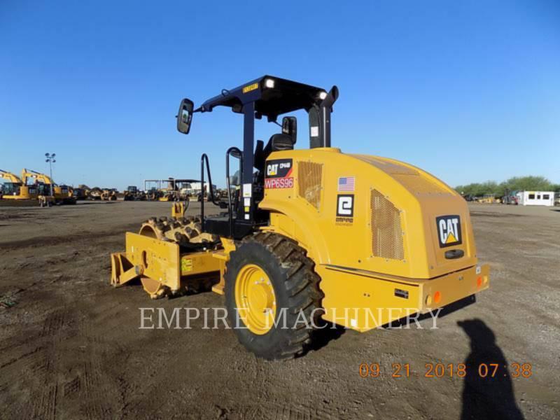 CATERPILLAR COMPATTATORE A SINGOLO TAMBURO VIBRANTE TASSELLATO CP44B equipment  photo 3