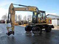 Equipment photo Caterpillar M 313 D EXCAVATOARE PE ROŢI 1