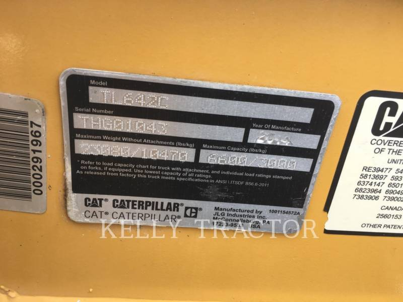 CATERPILLAR TELESKOPSTAPLER TL642C equipment  photo 17