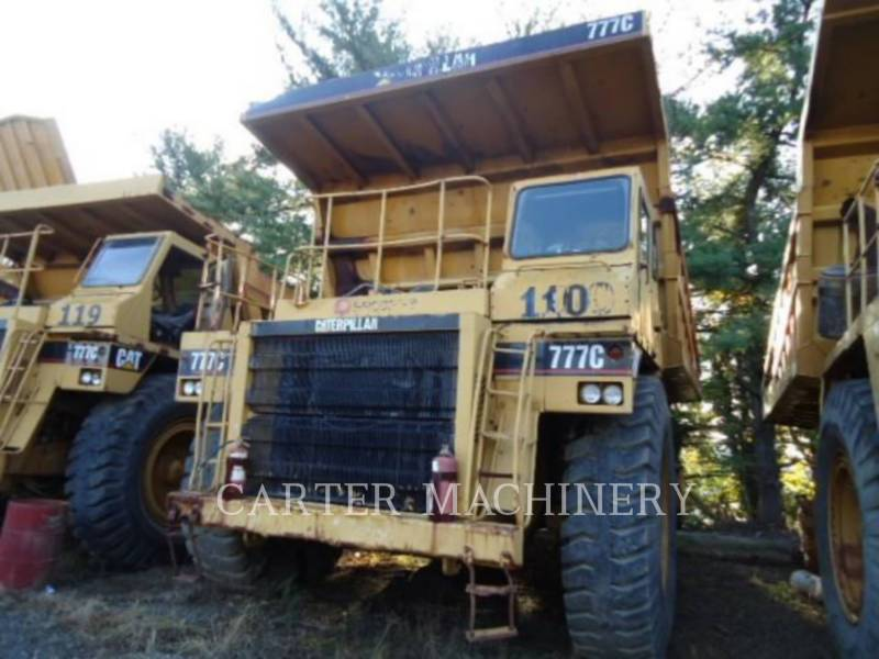 CATERPILLAR TOMBEREAUX RIGIDES POUR MINES 777C equipment  photo 4