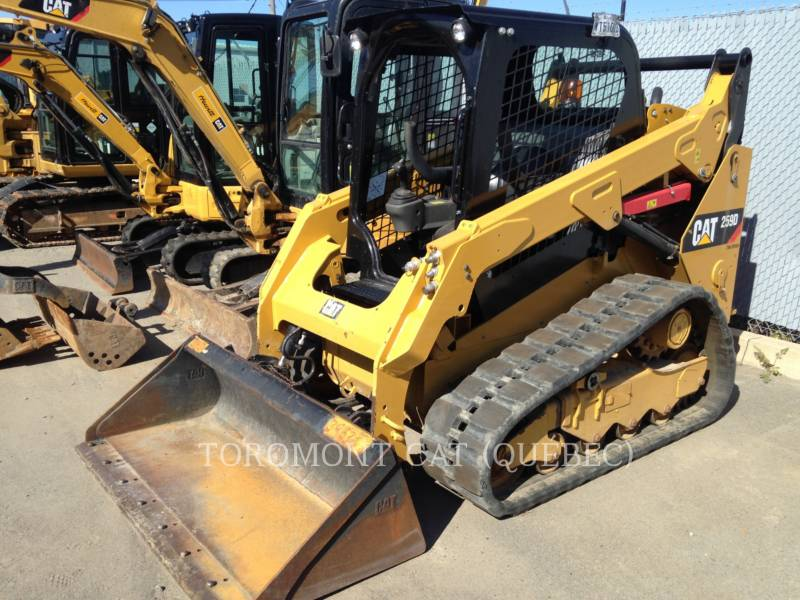 CATERPILLAR CHARGEURS SUR CHAINES 259D equipment  photo 6