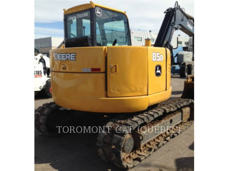 JOHN DEERE PELLES SUR CHAINES 85D equipment  photo 6