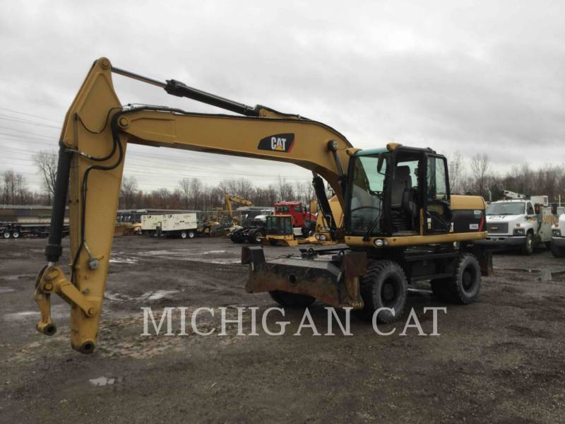 CATERPILLAR PELLES SUR PNEUS M322D equipment  photo 2