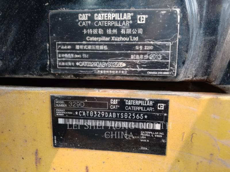 CATERPILLAR ESCAVATORI CINGOLATI 329D equipment  photo 2