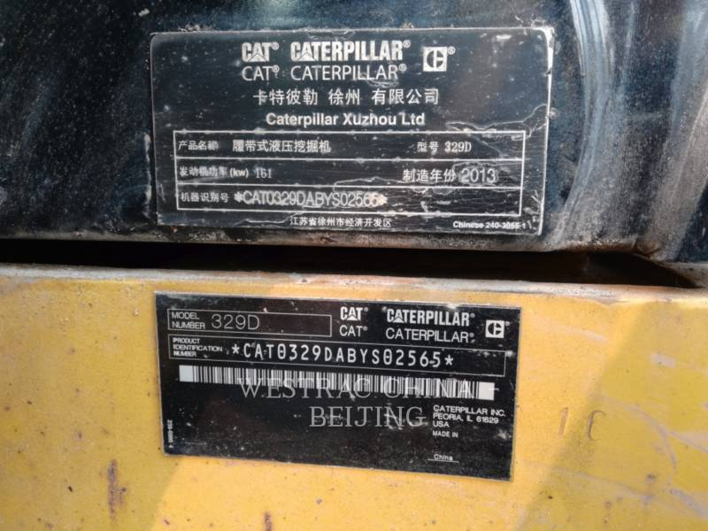 CATERPILLAR KETTEN-HYDRAULIKBAGGER 329D equipment  photo 2