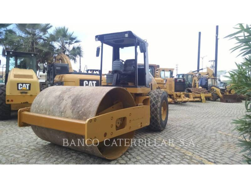 CATERPILLAR COMPACTEUR VIBRANT, MONOCYLINDRE LISSE CS-533E equipment  photo 1