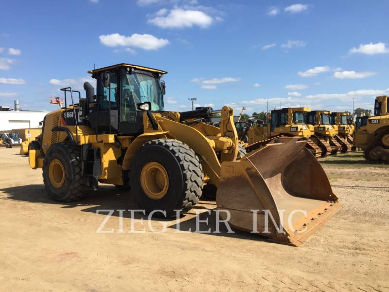 CATERPILLAR CHARGEURS SUR PNEUS MINES 966M equipment  photo 2