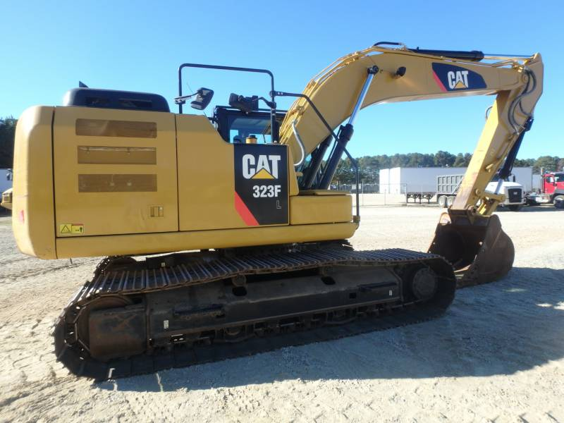 Caterpillar EXCAVATOARE PE ŞENILE 323FL equipment  photo 5