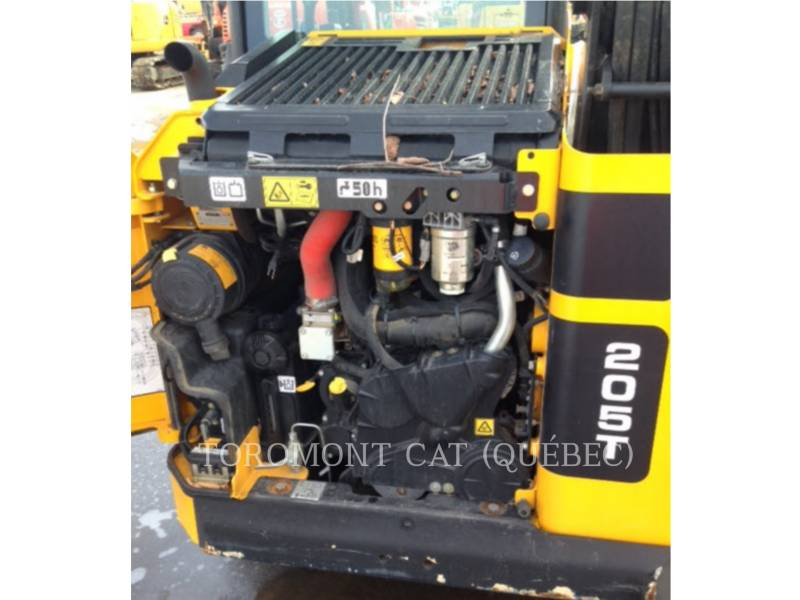 JCB SKID STEER LOADERS 205T equipment  photo 9