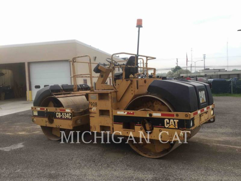 CATERPILLAR TAMBOR DOBLE VIBRATORIO ASFALTO CB-534C equipment  photo 1