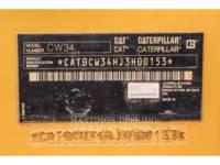 CATERPILLAR VERDICHTERS MET LUCHTBANDEN CW34 equipment  photo 15