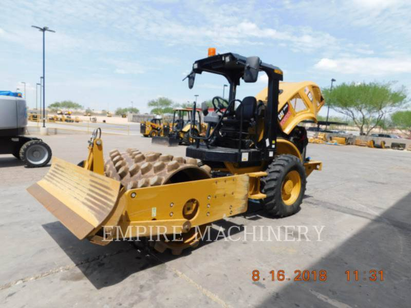 CATERPILLAR EINZELVIBRATIONSWALZE, BANDAGE CP44B equipment  photo 4