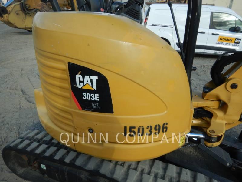 CATERPILLAR EXCAVADORAS DE CADENAS 303E CR equipment  photo 16