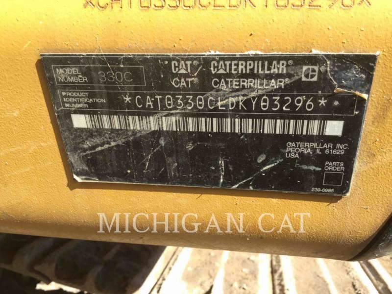 CATERPILLAR TRACK EXCAVATORS 330CL equipment  photo 8
