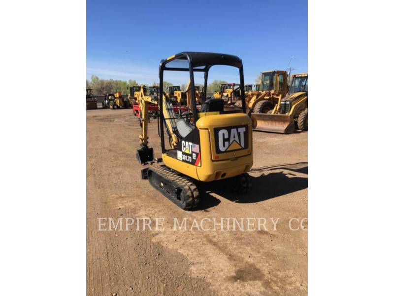 CATERPILLAR TRACK EXCAVATORS 301.7D OR equipment  photo 2