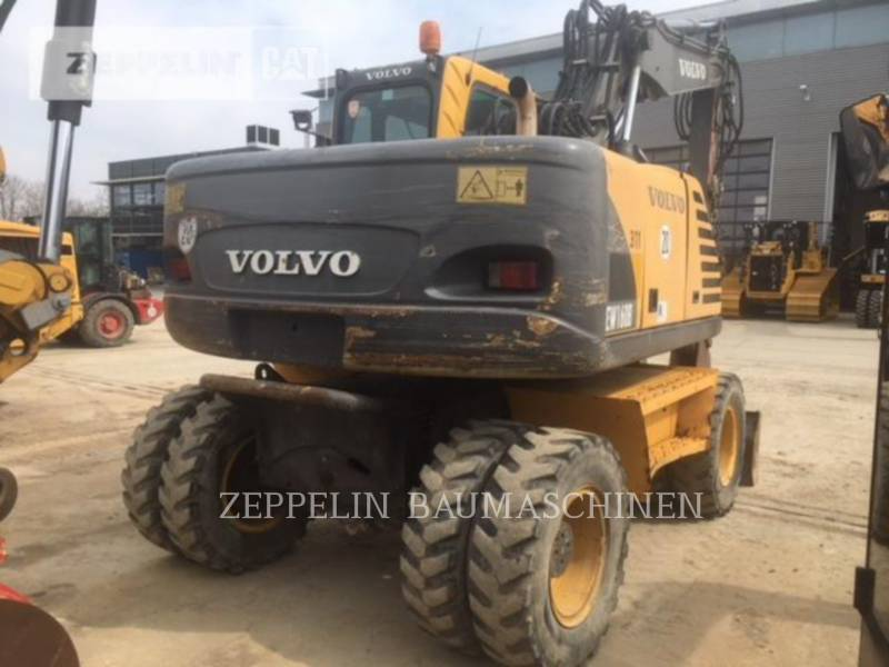 VOLVO CONSTRUCTION EQUIPMENT WHEEL EXCAVATORS EW160B equipment  photo 5