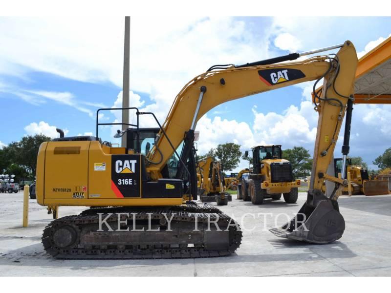 CATERPILLAR トラック油圧ショベル 316EL equipment  photo 3
