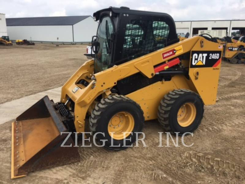 CATERPILLAR MINICARGADORAS 246DSR equipment  photo 1