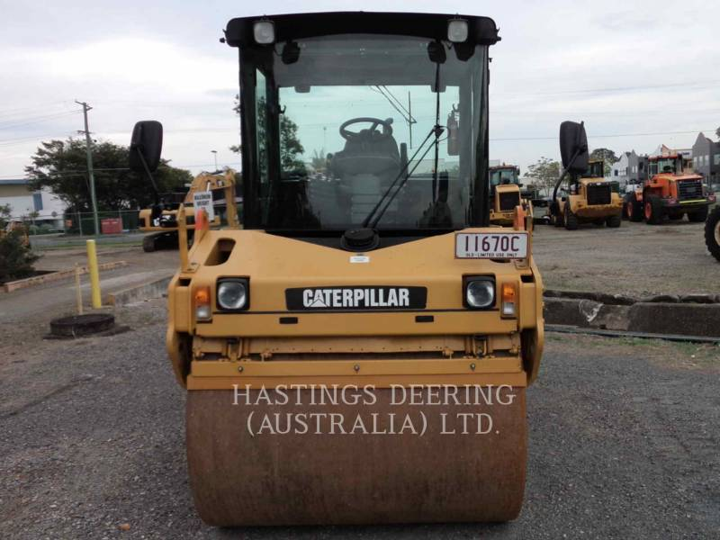 CATERPILLAR TAMBOR DOBLE VIBRATORIO ASFALTO CB-534D equipment  photo 1