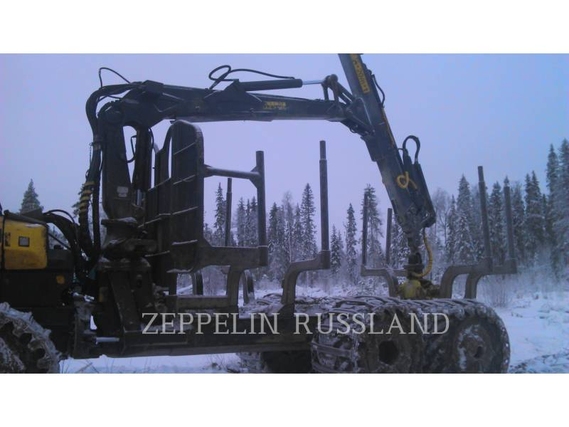 PONSSE FORSTWIRTSCHAFT - FORWARDER BUFFALO 8W equipment  photo 8