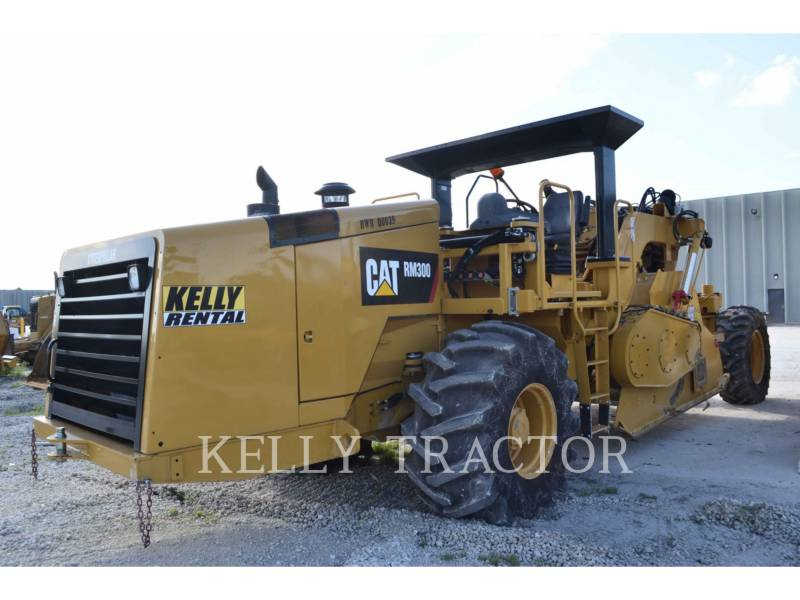 CATERPILLAR STABILISIERER/RECYCLER RM-300 equipment  photo 6