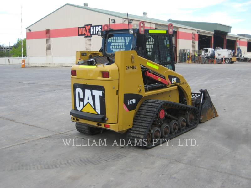 CATERPILLAR CHARGEURS TOUT TERRAIN 247 B SERIES 3 equipment  photo 4