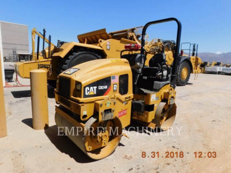 CATERPILLAR COMPATTATORE PER ASFALTO A DOPPIO TAMBURO VIBRANTE CB24B equipment  photo 4