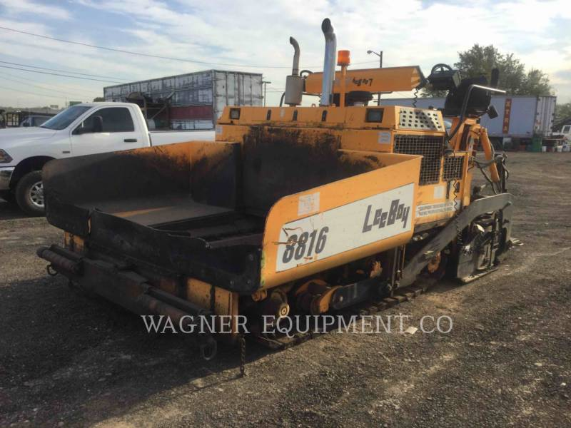 LEE-BOY FINISSEURS L8816 T equipment  photo 1