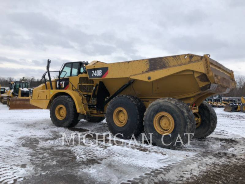 CATERPILLAR ARTICULATED TRUCKS 740B T equipment  photo 4