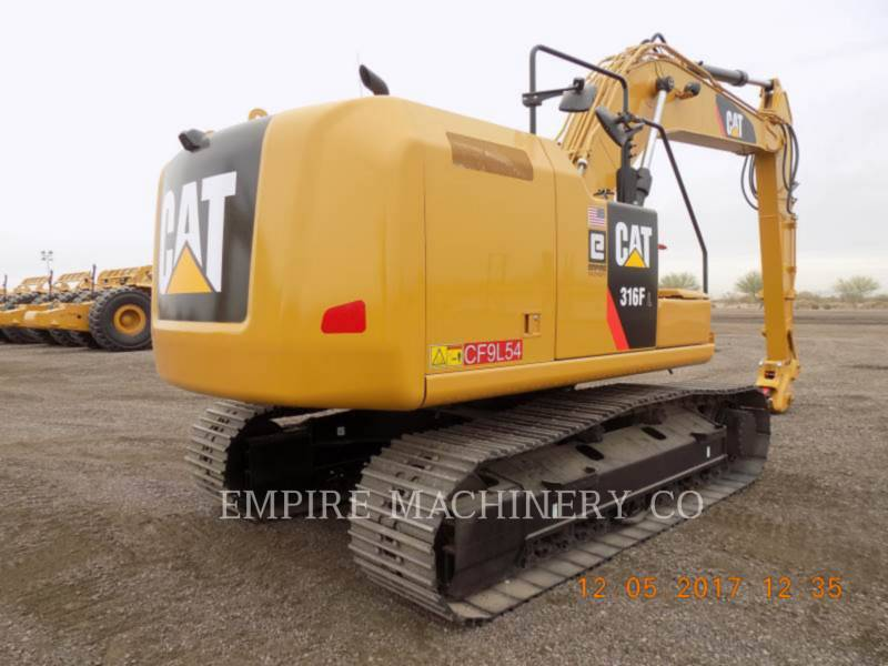 CATERPILLAR EXCAVADORAS DE CADENAS 316FL    P equipment  photo 2