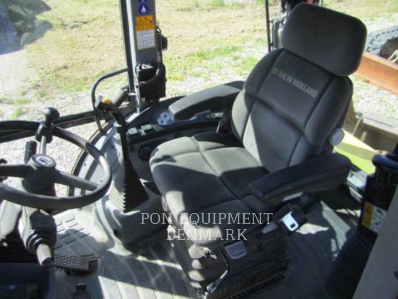 NEW HOLLAND LTD. KOPARKO-ŁADOWARKI B115 4PS equipment  photo 4