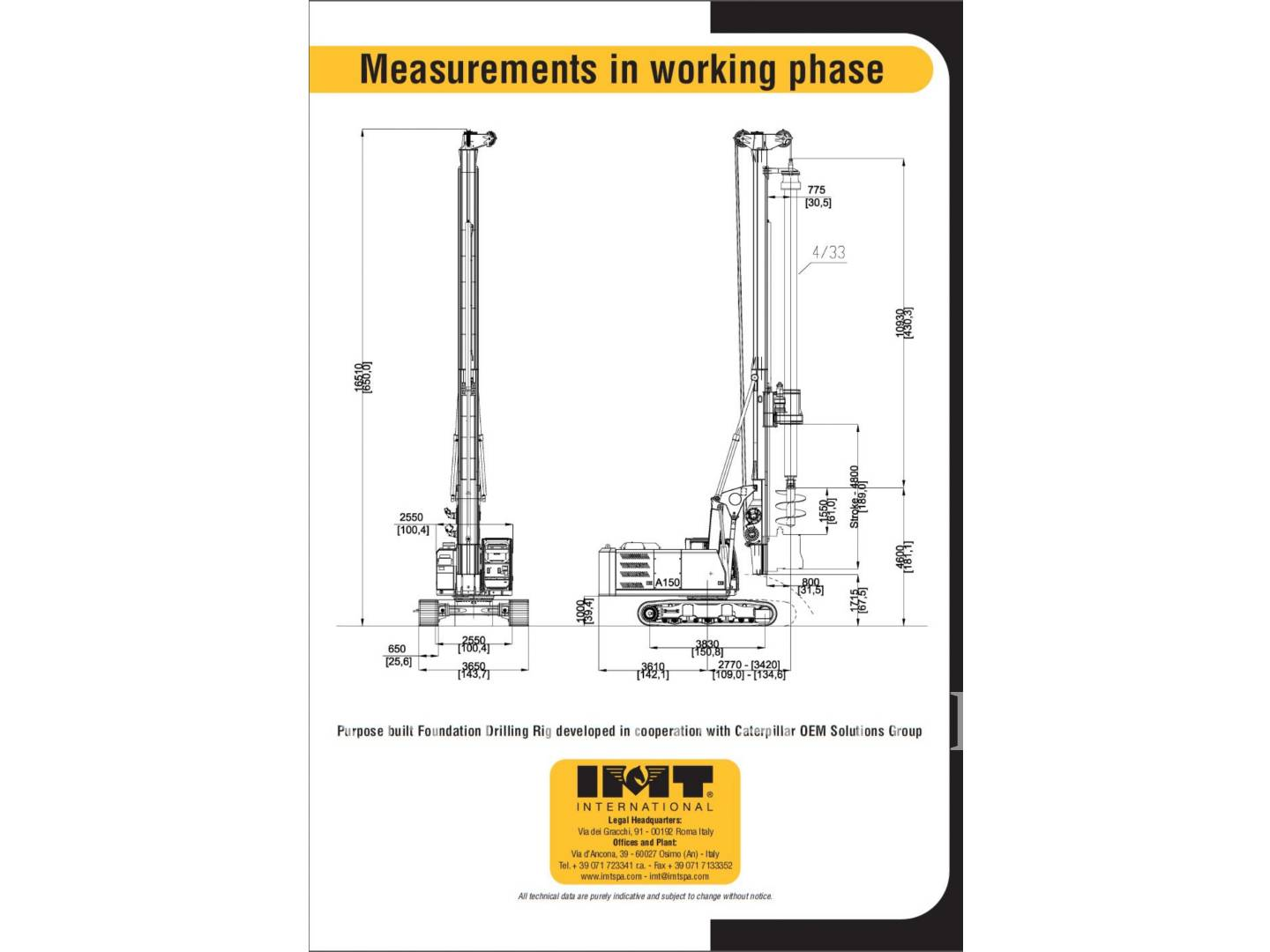 Detail photo of 2015 IMT A150 from Construction Equipment Guide