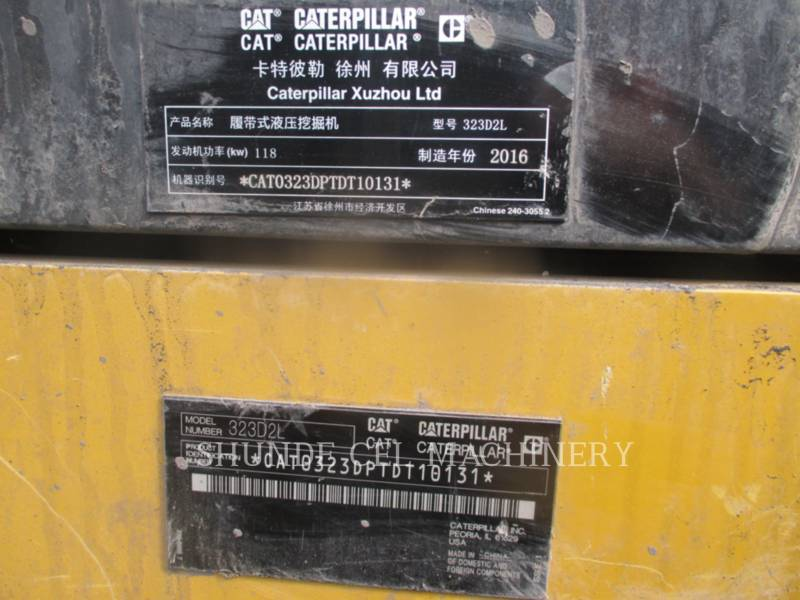 CATERPILLAR KETTEN-HYDRAULIKBAGGER 323D2L equipment  photo 3