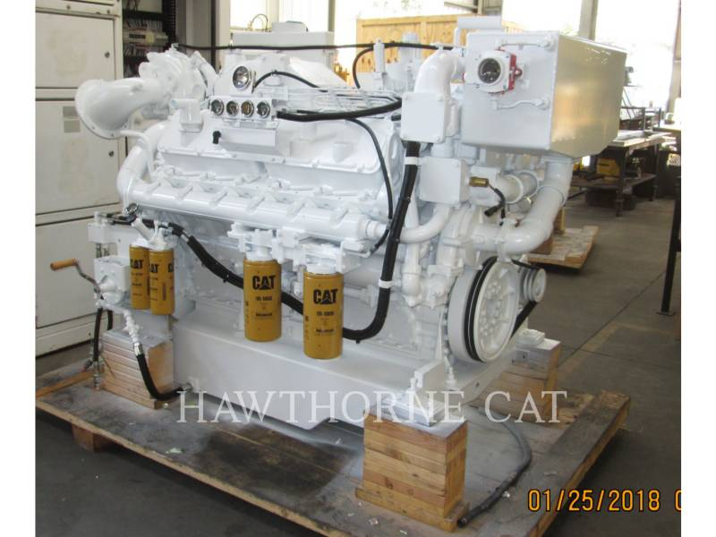 CATERPILLAR MARINA - PROPULSIONE 3412C DITA equipment  photo 3
