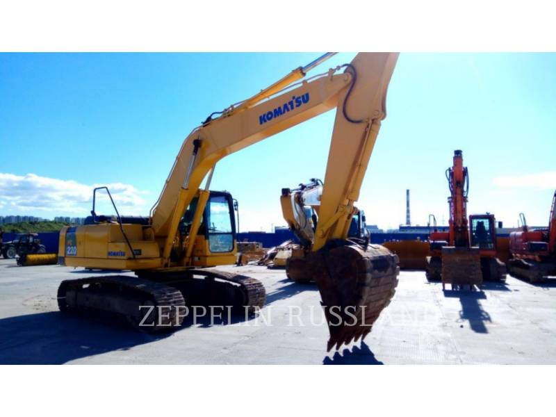 KOMATSU KOPARKI GĄSIENICOWE PC220LC-8 equipment  photo 2