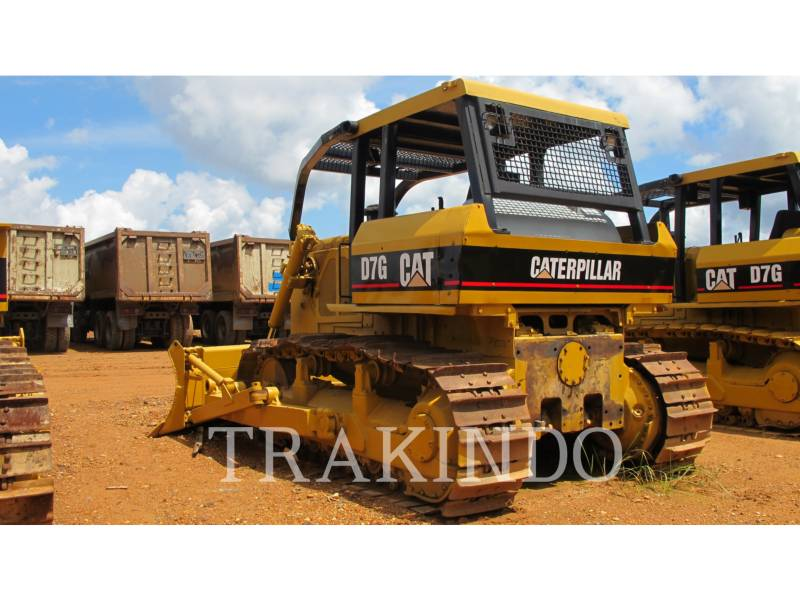 CATERPILLAR TRACTORES DE CADENAS D7G equipment  photo 5